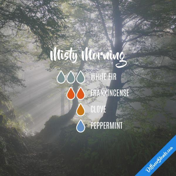 Misty Morning - Essential Oil Diffuser Blend