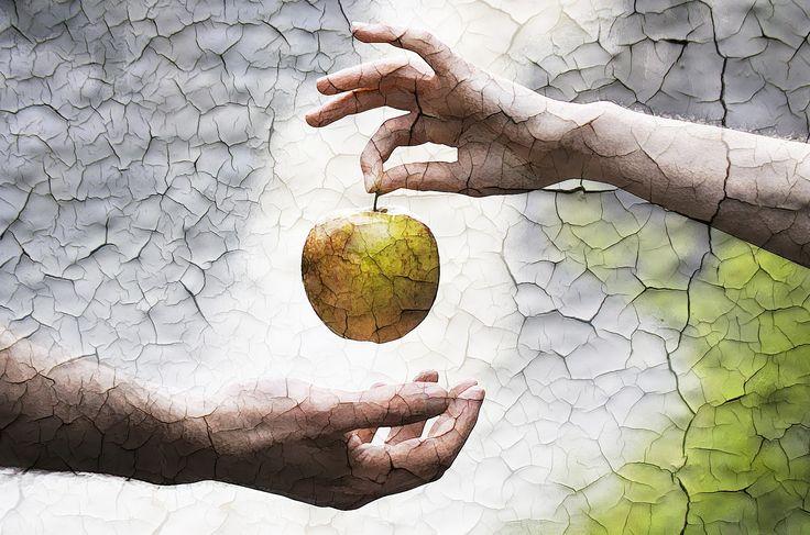 Iso Omena pähkinänkuoressa :D #Painting #IsoOmena