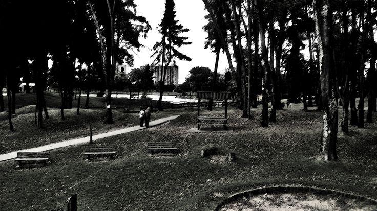 Tomada en El Parque de los Novios, Bogotá, Colombia :)
