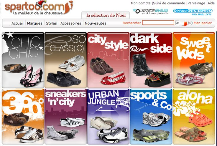 Spartoo.gr is the No.1 shoe sales site on the web.  To spartoo.gr offers a wide range of products in the collection of 700 brands and 30000 models that appeal to women, men and children. Το spartoo.gr είναι το Νο 1 site πώλησης παπουτσιών στο διαδίκτυο.  To spartoo.gr διαθέτει μία μεγάλη γκάμα προιόντων στη συλλογή του, 700 μάρκες και 30000 μοντέλα που απευθύνονται σε γυναίκες, άντρες και παιδιά. http://go.linkwi.se/z/11315-1/CD18988/?