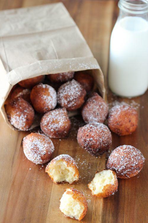 Ponchiki - Russian Donuts - Творожные Пончики - Olga's Flavor Factory