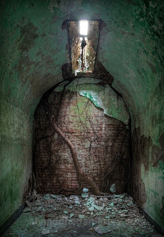 another beautiful photograph.  This time from an abandoned prison.