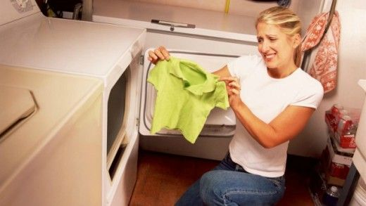 This could possibly work & save your shrunk clothes... I have NOT tried it but it does make sense.