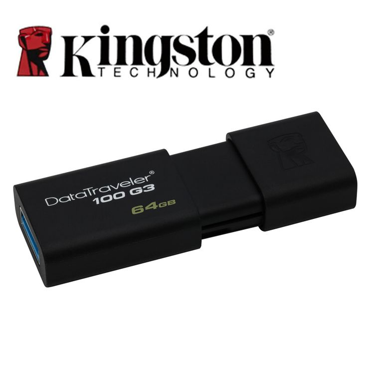 Kingston memoria usb 3.0 pen drive 64gb high speed pendrives memoria stick