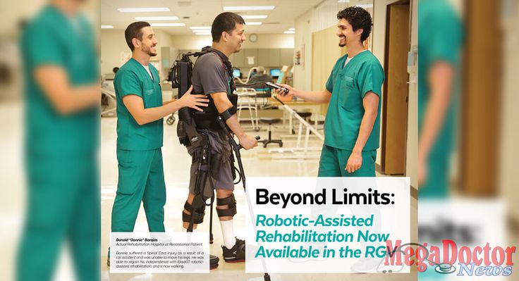 Mega Doctor News is excited to Videostream LIVE the EksoGT exoskeleton rehab program
