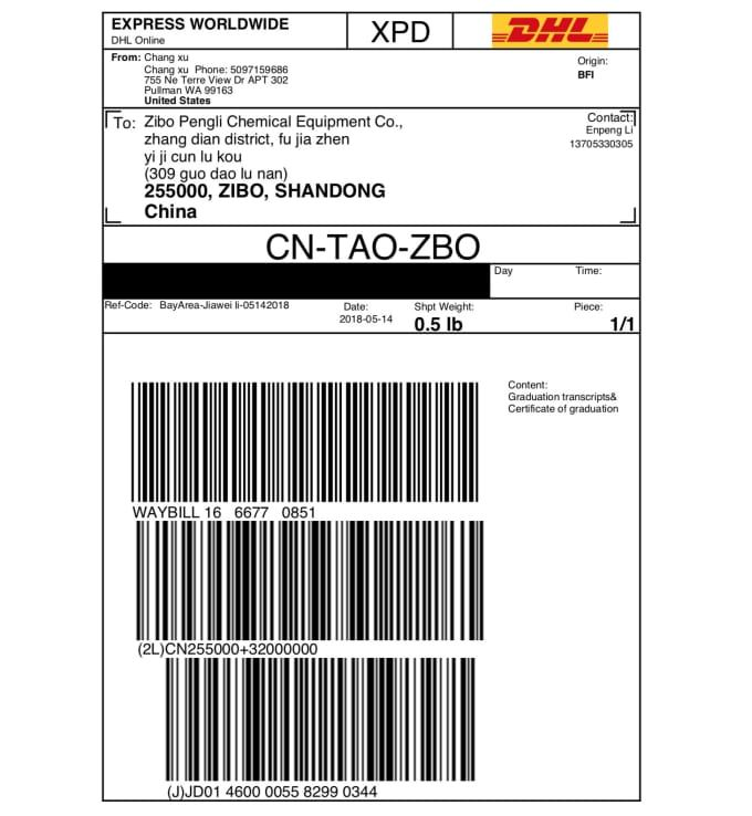 Dhl Prepaid Shipping Label Shipping Label Labels Shopify Help