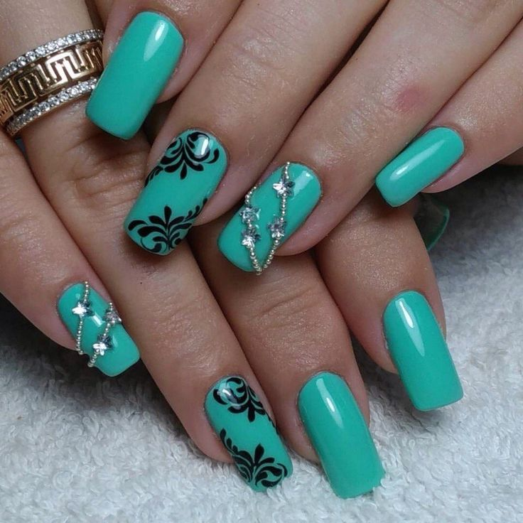Prom Nail Ideas For Long: 1426 Best Images About Spring Nails On Pinterest