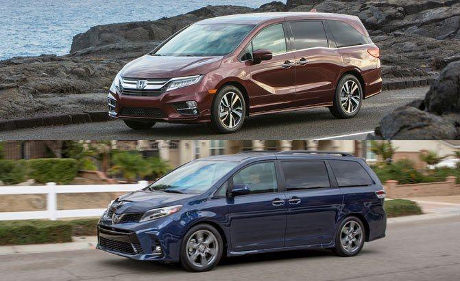 Honda Odyssey Vs Toyota Sienna New Honda Odyssey Honda Odyssey New Honda