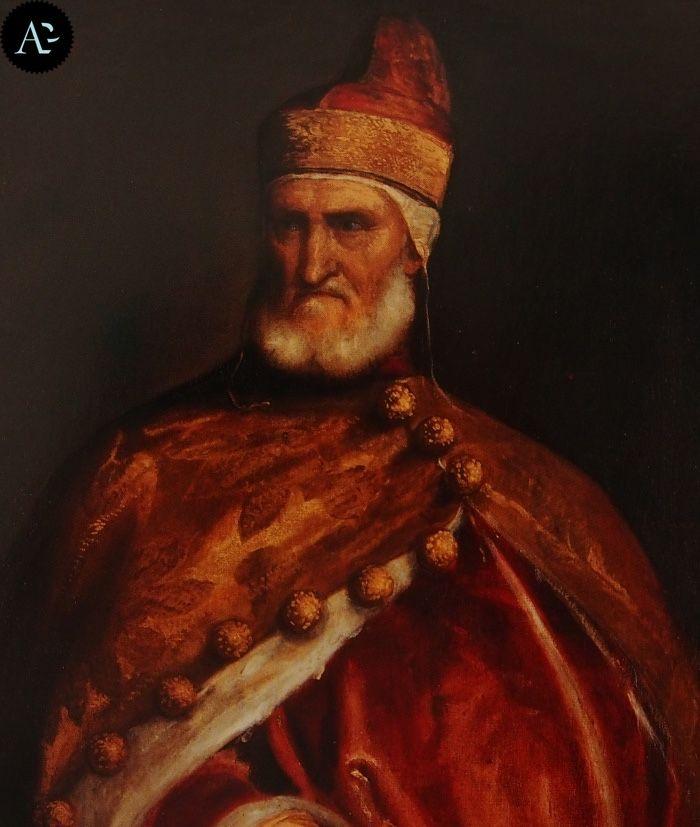 Tiziano Vecellio | Ritratto del Doge Andrea Gritti