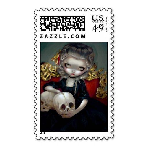 """Les Vampires: Les Crânes"" Stamp"