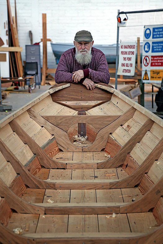 Wood still talks to us. It's part of what we are. W M Nixon takes a look at current Irish wooden boat-building projects.