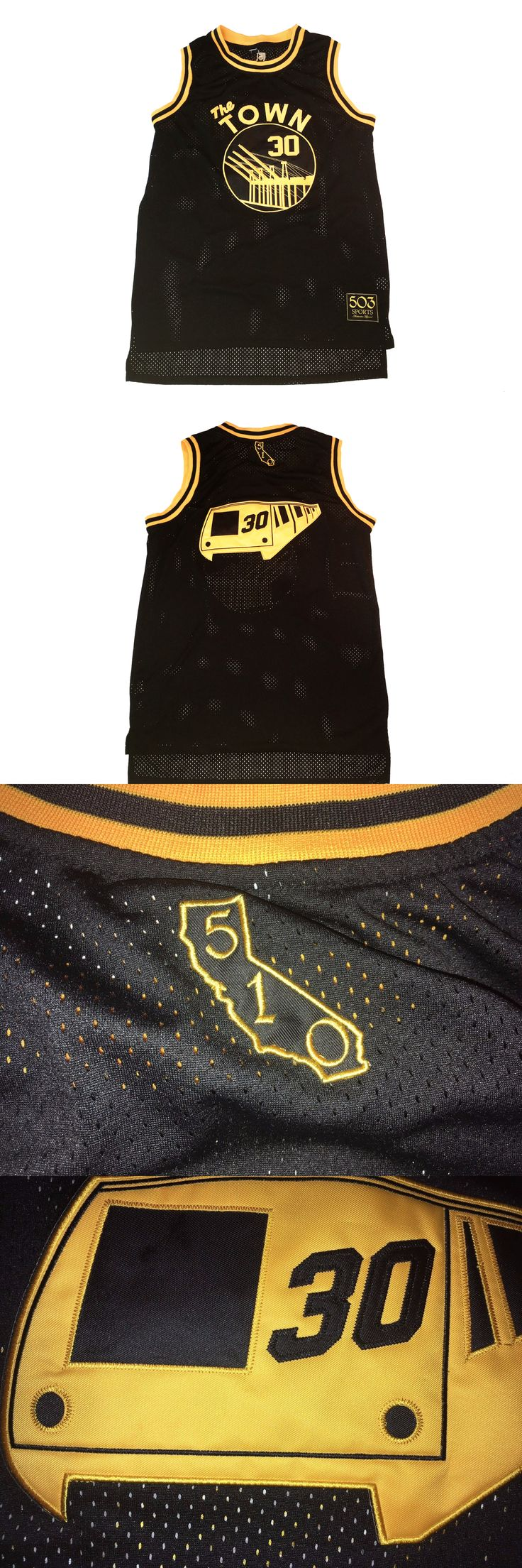 Basketball-NBA 24442: The Town Basketball Jersey Oakland The City Black Warriors Stephen Curry -> BUY IT NOW ONLY: $59.99 on eBay!