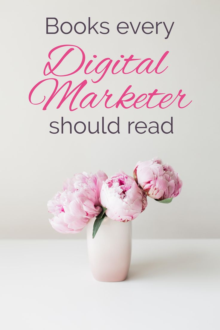 Keep the competition on their toes by staying up on the latest in digital marketing news. These books are for anyone who earns a living in the digital world because everyone needs all the advantages they can get!