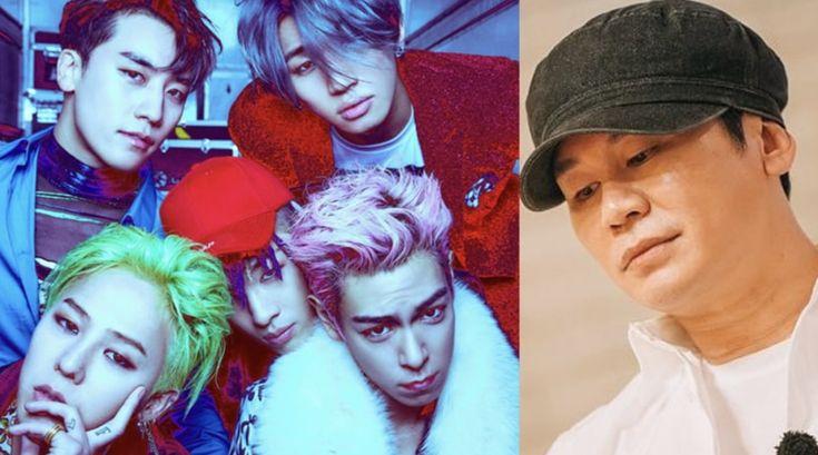 Yang Hyun Suk compartilha seus pensamentos sobre o futuro do BIGBANG