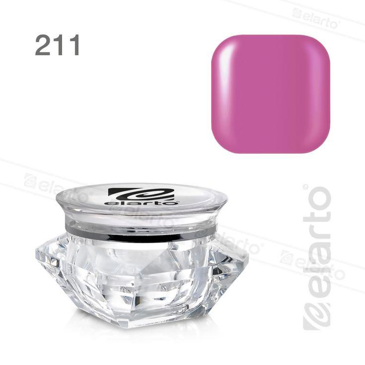Żel kolorowy Extreme Color Gel nr 211 - fioletoworóżowy 5g #elarto #żel #kolorowy #fioletoworóżowy