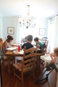 Clover Lane: Ordinary Days on Monday Morning – Home School