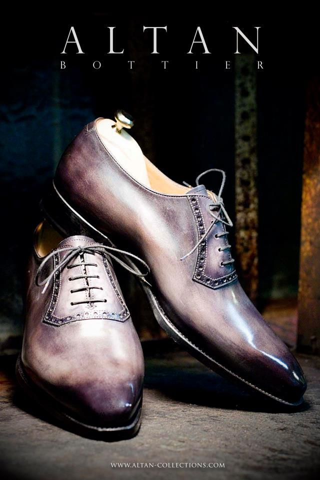 Altan dress shoes.  Beautiful color!  Would go with just about everything!