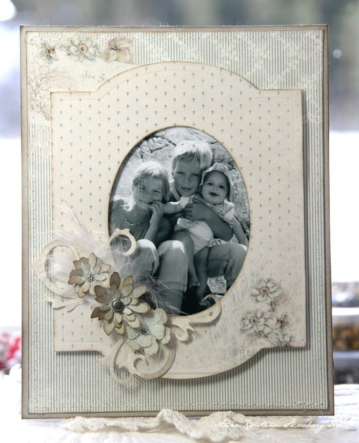 Anne Kristine: Picture Frame - Cameo Frame + Tattered Flower Garland http://sizzixukblog.blogspot.no/2013/03/picture-frame.html