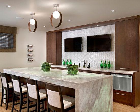 bar design fabulous modern home bar ideas for basement also white marble bar table material
