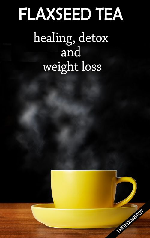 FLAXSEED TEA BENEFITS AND RECIPE