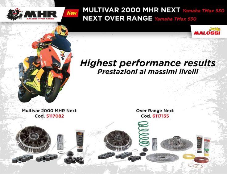 La gamma dei prodotti Malossi per Yamaha TMax 530 si arricchisce con tre prodotti novità che renderanno il tuo veicolo ancora più performance!  Scoprili tutti al link ➠ http://www.malossi.com/malossi-t-max/