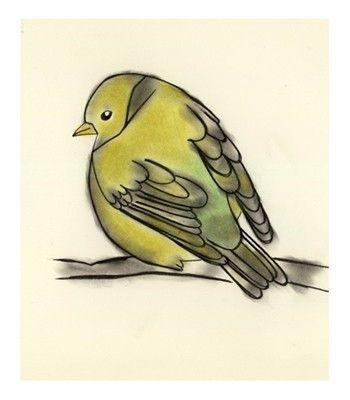 3/20 - Bird art prints sale set 5 X  different bird by matouenpeluche, $25.00