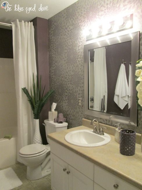 Spa Inspired Bathroom Makeover