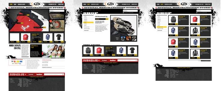 GM Merchandising | Proposal for web design | 2011