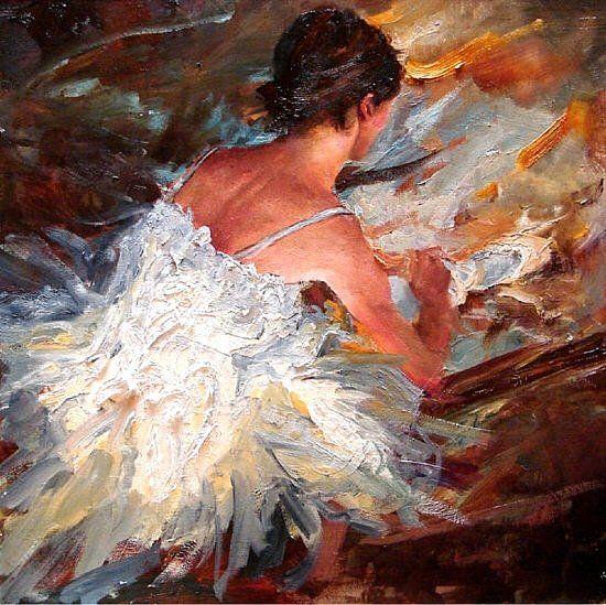 Pintor impresionista americano Mattlin Scott. ~ Dosis Tecnologica
