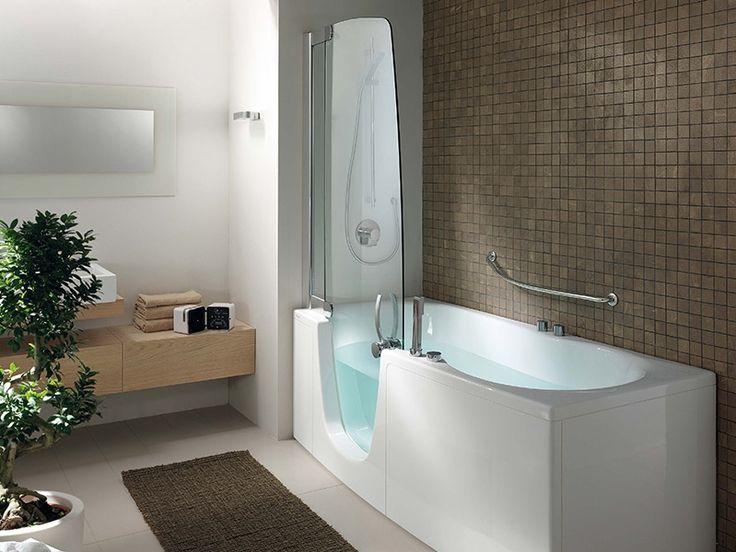 17 migliori idee su vasca da bagno doccia su pinterest vasche doccia vasca da bagno doccia e - Combinati vasca doccia ...
