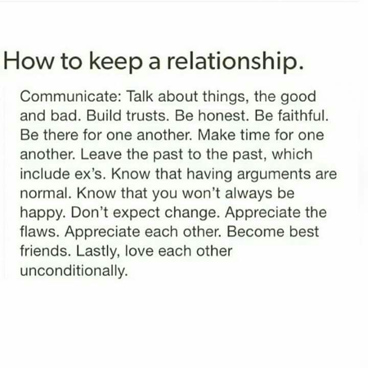 tips on how to keep a relationship
