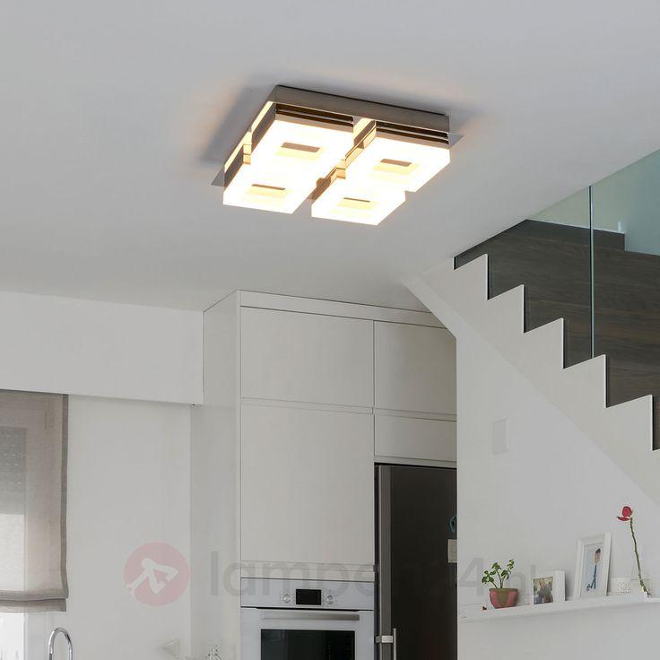 LED badkamer plafondlamp Marija met vier lichtbr. veilig & makkelijk online bestellen op lampen24.nl