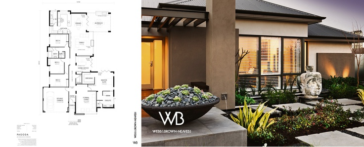 The Pagoda by Webb and Brown-Neaves. Visit it at 3 Trumpet Street, Southern River or http://www.wbhomes.com.au