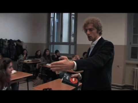 L'Odissea in classe. Il prof. Alessandro D'Avenia a lezione