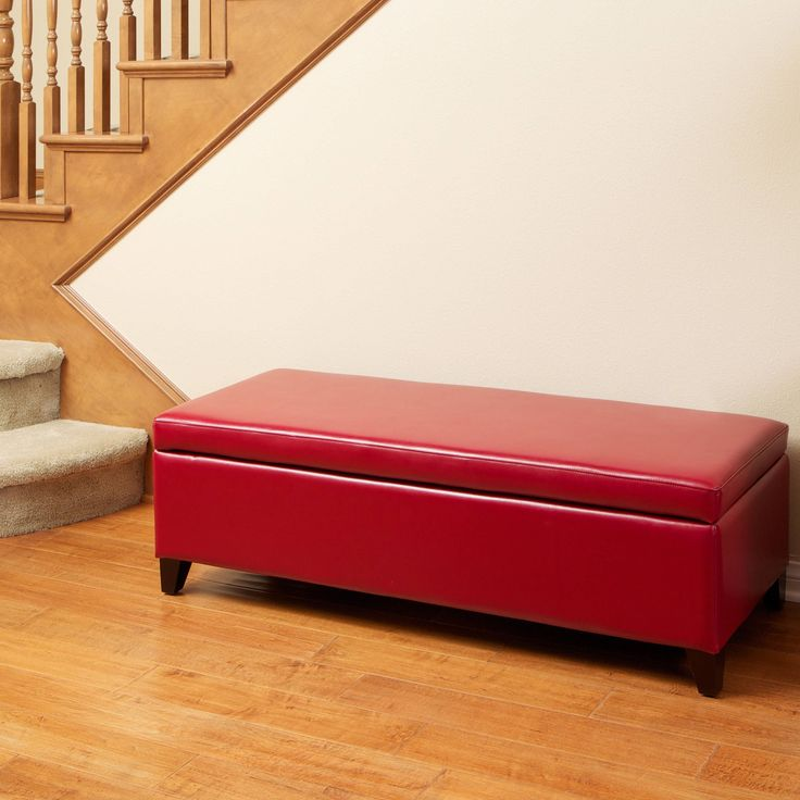 Selma Storage Ottoman Bench by Christopher Knight Home