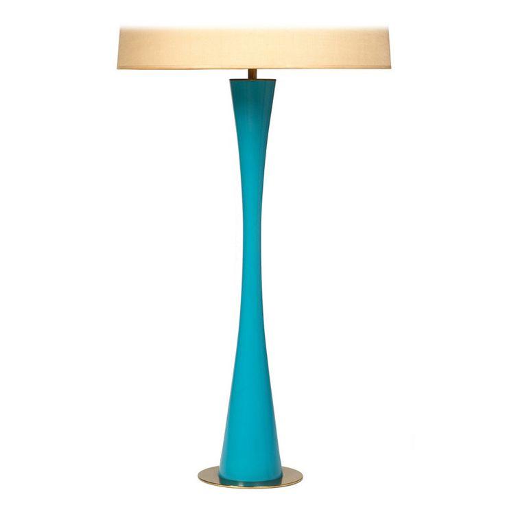 1stdibs   Lithe Azure Blue Table Lamp By Stewart Ross James For Hansen