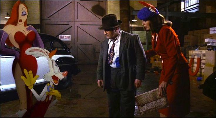 Jessica Rabbit, Roger Rabbit, Eddie Valiant and Dolores ...