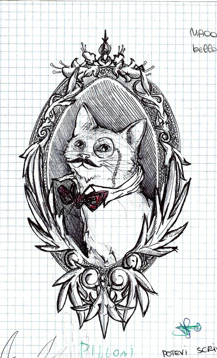 Sophisticated Cat By Kuraya Pen My Stuff Pinterest Cats