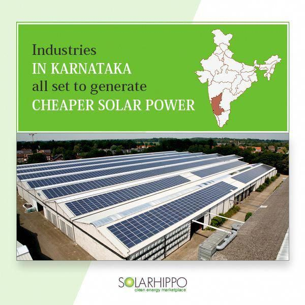 Industries Especially Small And Medium Enterprises In Karnataka Are Being Wooed To Harness Solar Energy And Beco In 2020 Solar Energy System Solar Power Solar Energy
