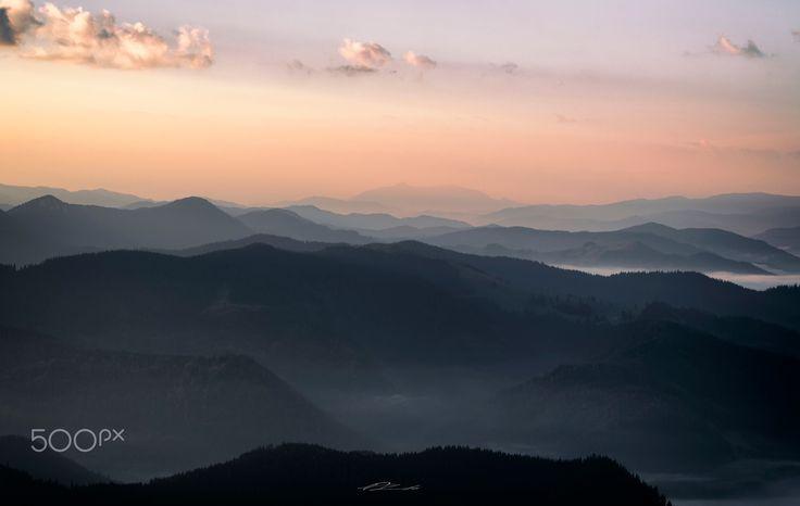 Bucovina - Rarau Mountains part of Bucovina , a beautiful place located in Romania ,