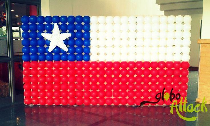 Bandera Chilena , fiestas patrias