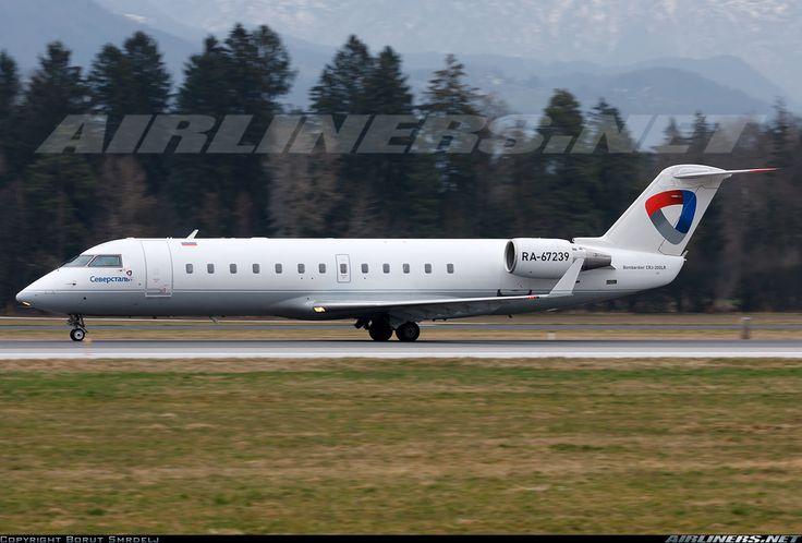 Canadair CL-600-2B19 Regional Jet CRJ-200ER, Severstal, RA-67239, cn 7989, first flight 9/2004 (Air Nostrum), Severstal delivered 9/2014. His last flight 5.5.2016 Moscow - Cherepovets. Foto: Ljubljana, Slovenia, 11.3.2016.