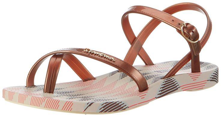Ipanema Damen Fashion Sand IV Fem Zehentrenner, Mehrfarbig (Beige/Bronze), 35/36 EU