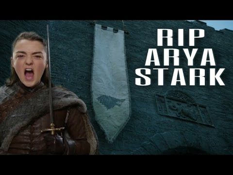 In this video I discuss the possibility of one of the most beloved characters from Game of Thrones and ASOIAF being killed. That character is Arya Stark. Thi...