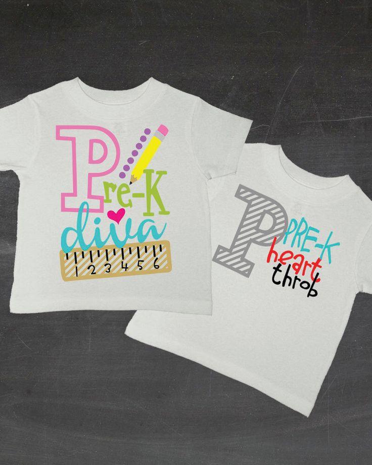 PreK Shirt Pre-K Shirt Boys Pre K Girls Preschool Shirt Back To School Shirt…