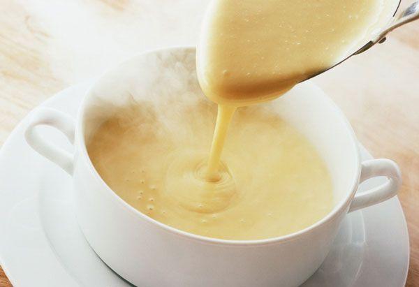 Crema suave de verduras
