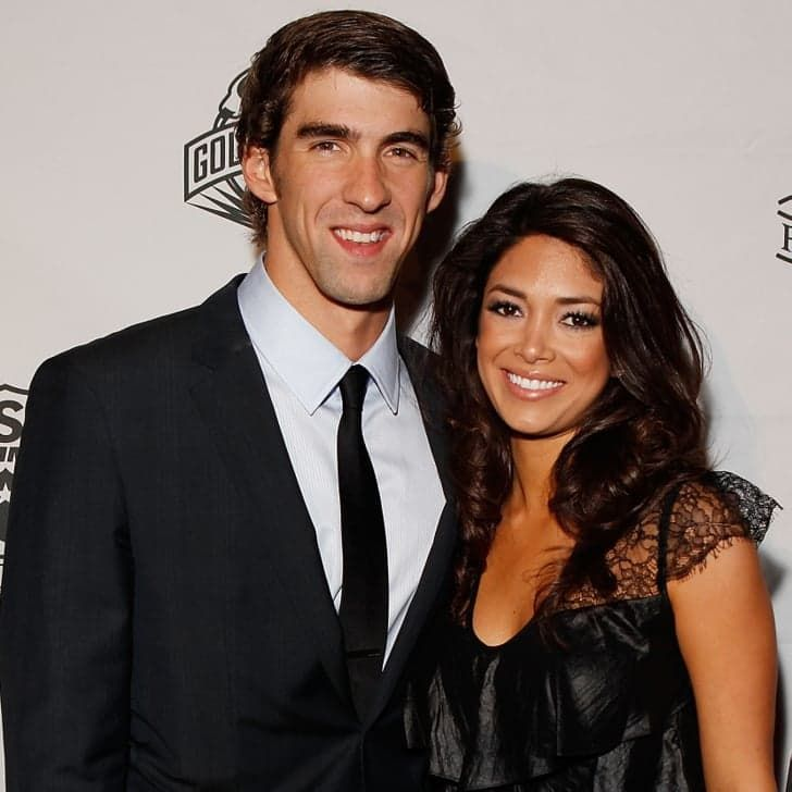 Pin for Later: Michael Phelps and Nicole Johnson Are Engaged — See Her Ring!