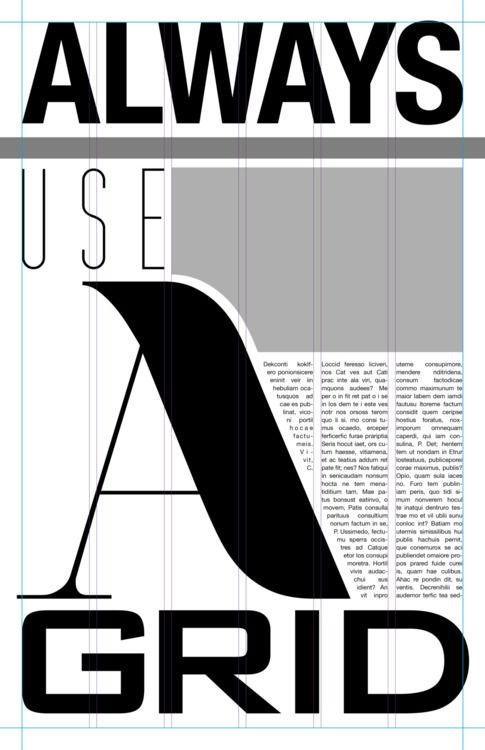 Editorial Design 101   #Grid #Spread #Layout
