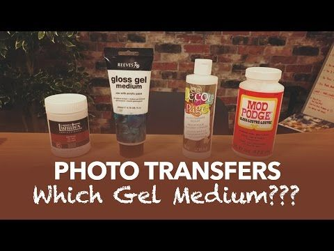 Do all Gel Mediums work as well? In this test we find out as the following products go head to head: 1. Mod Podge - http://prourls.co/imnf 2. Decoupage - htt...