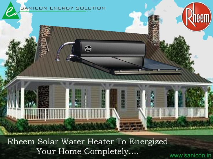 Solar Water Heaters Are Designed To Make Full Use Of Solar Energy To Heat  Up The